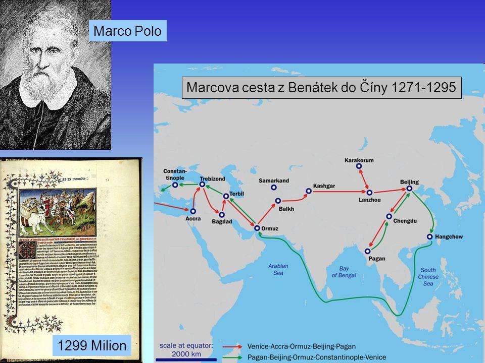 Marcova cesta z Benátek do Číny 1271-1295