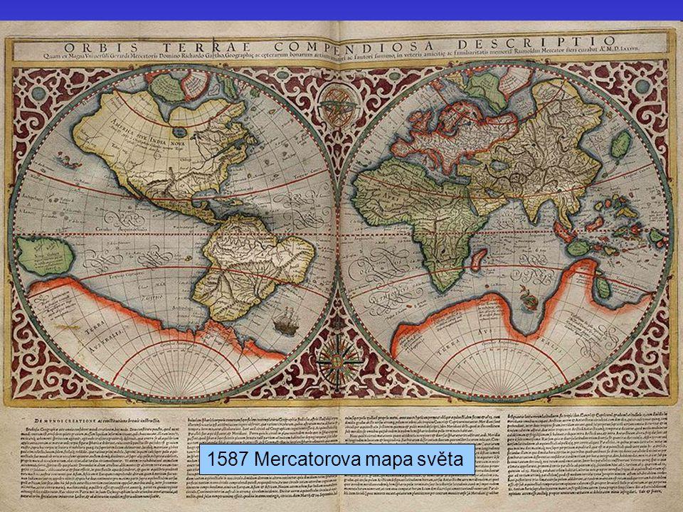 1587 Mercatorova mapa světa