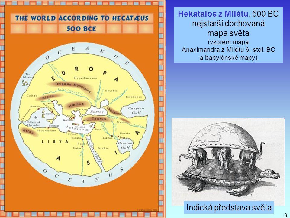 Anaximandra z Milétu 6. stol. BC