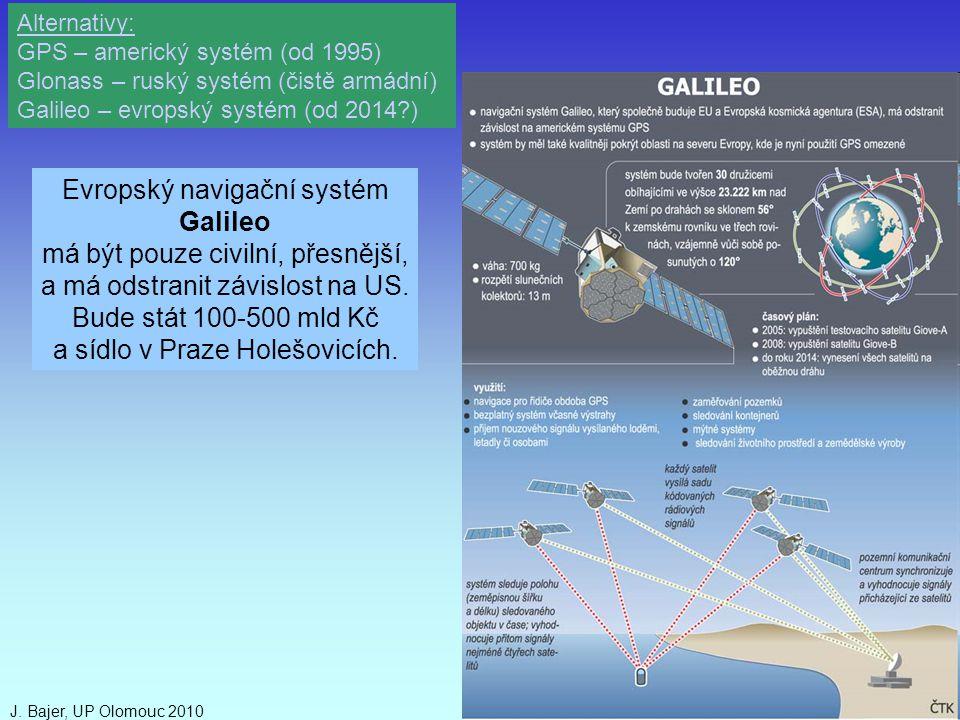 Evropský navigační systém Galileo má být pouze civilní, přesnější,