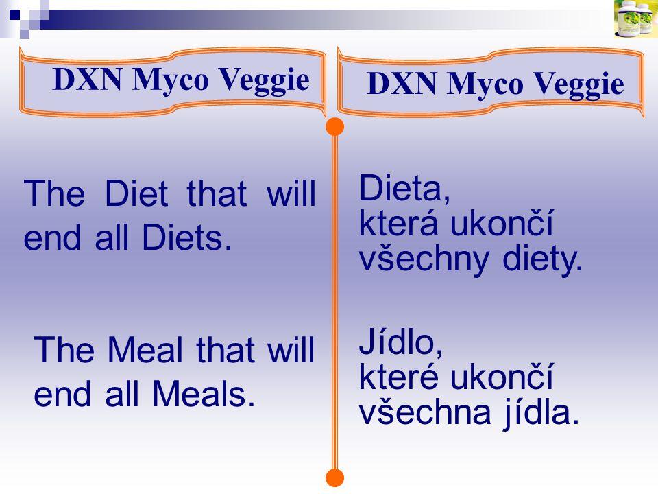 The Diet that will end all Diets. Dieta, která ukončí všechny diety.