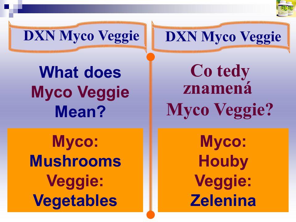 Co tedy znamená Myco Veggie