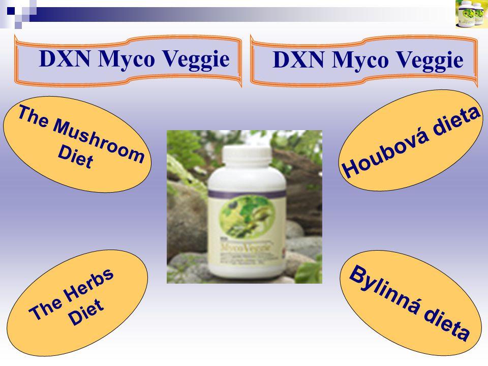 DXN Myco Veggie DXN Myco Veggie Houbová dieta Bylinná dieta