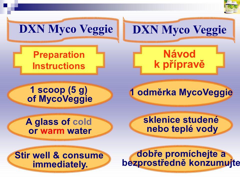 sklenice studené nebo teplé vody bezprostředně konzumujte