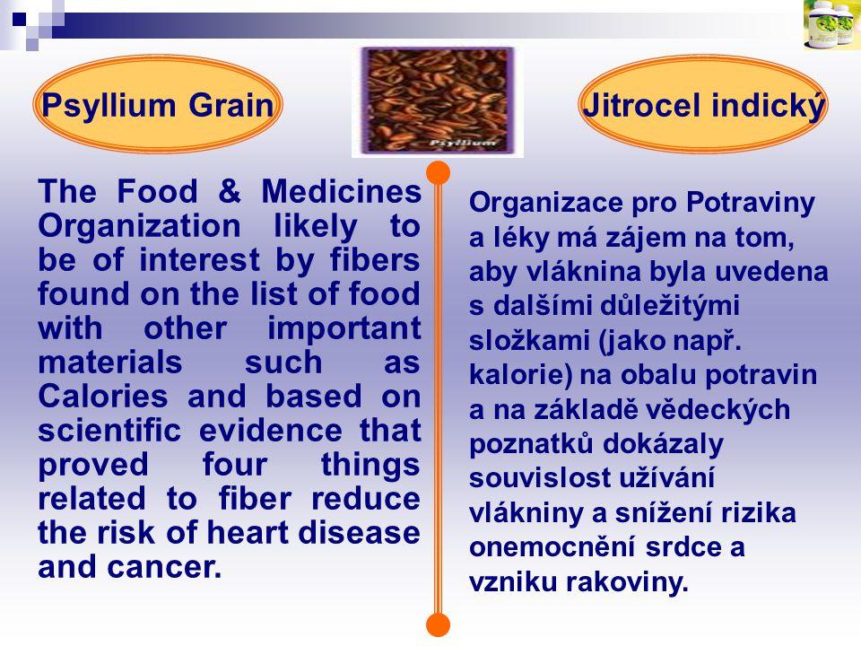 Psyllium Grain Jitrocel indický