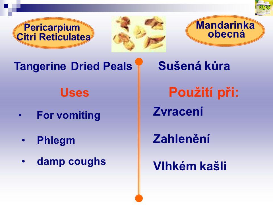 Tangerine Dried Peals Sušená kůra