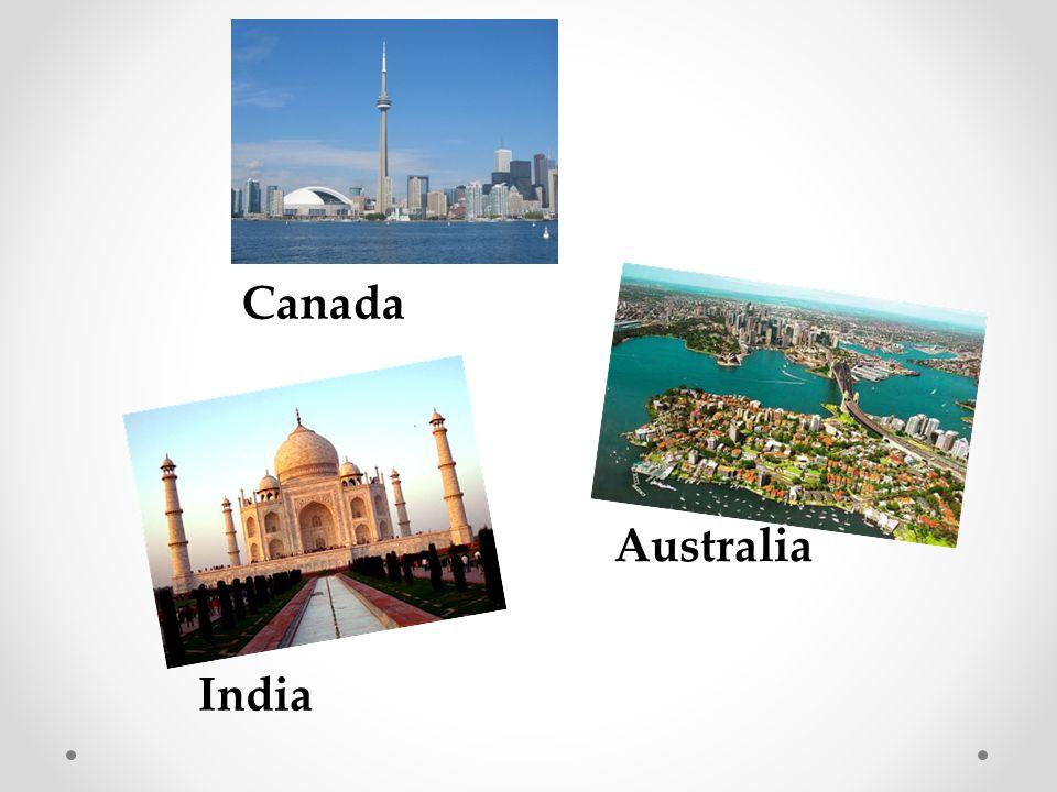 Canada Australia India