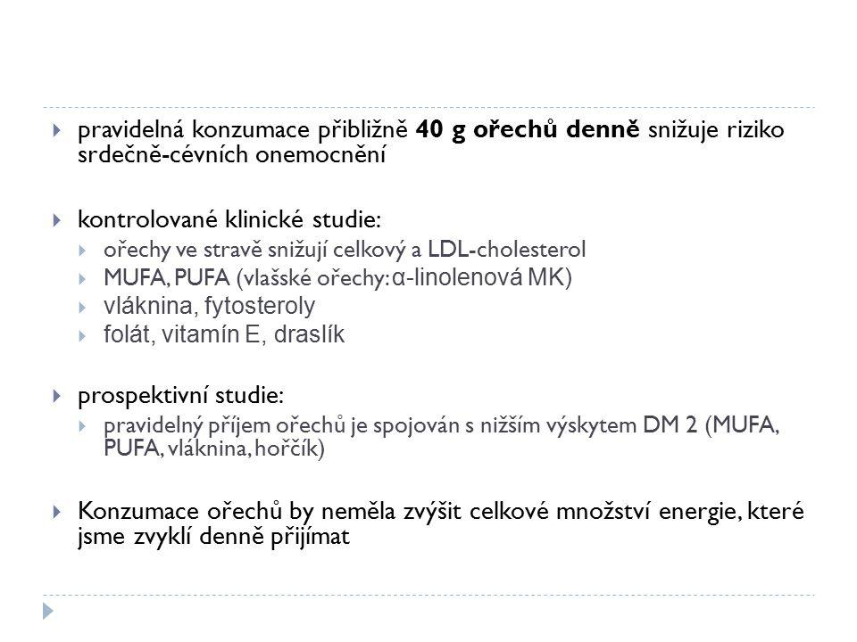 kontrolované klinické studie: