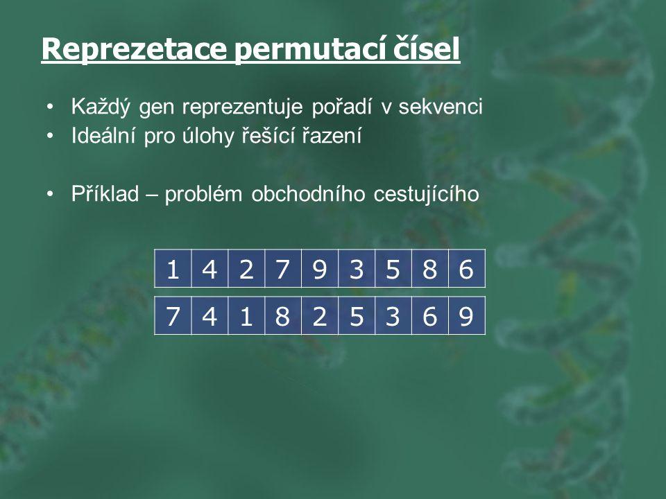 Reprezetace permutací čísel
