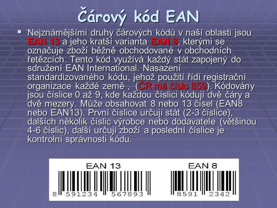 Čárový kód EAN