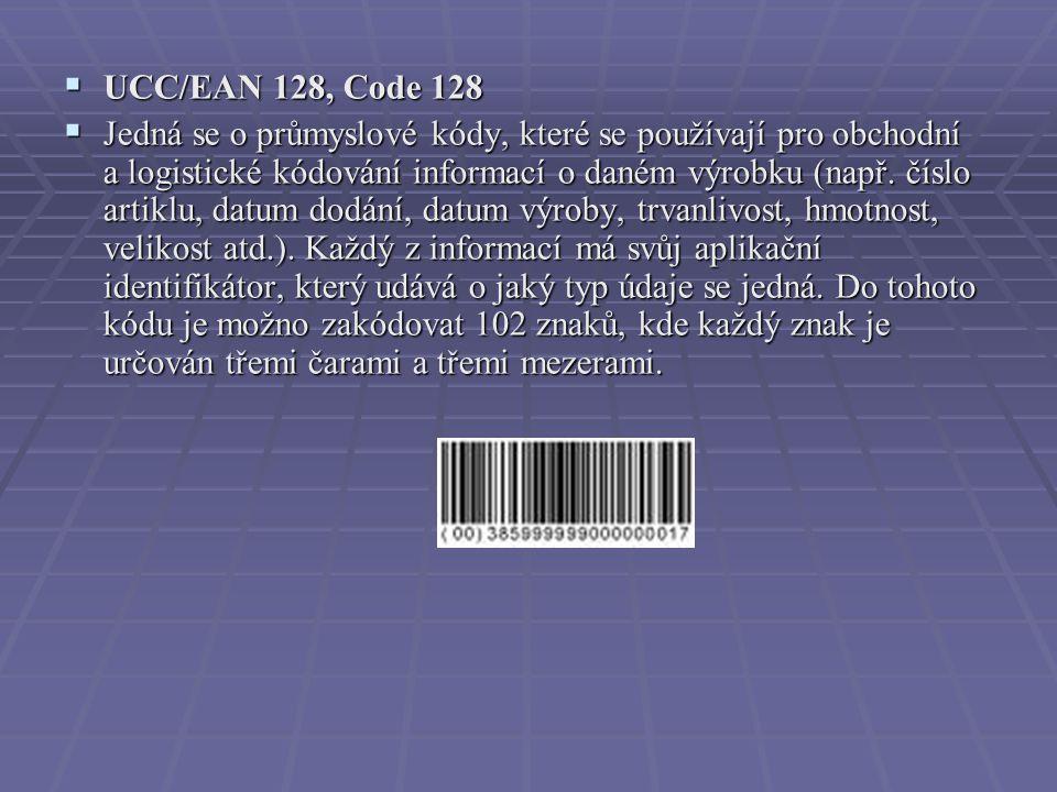 UCC/EAN 128, Code 128