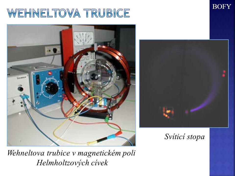 Wehneltova trubice v magnetickém poli