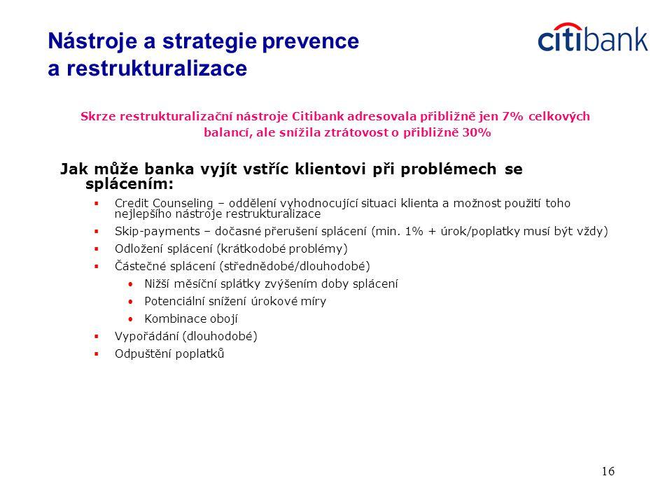 Nástroje a strategie prevence a restrukturalizace