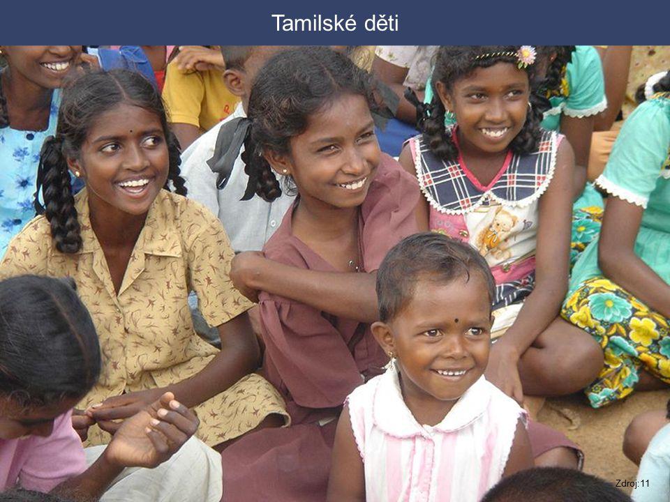 Tamilské děti Zdroj:11