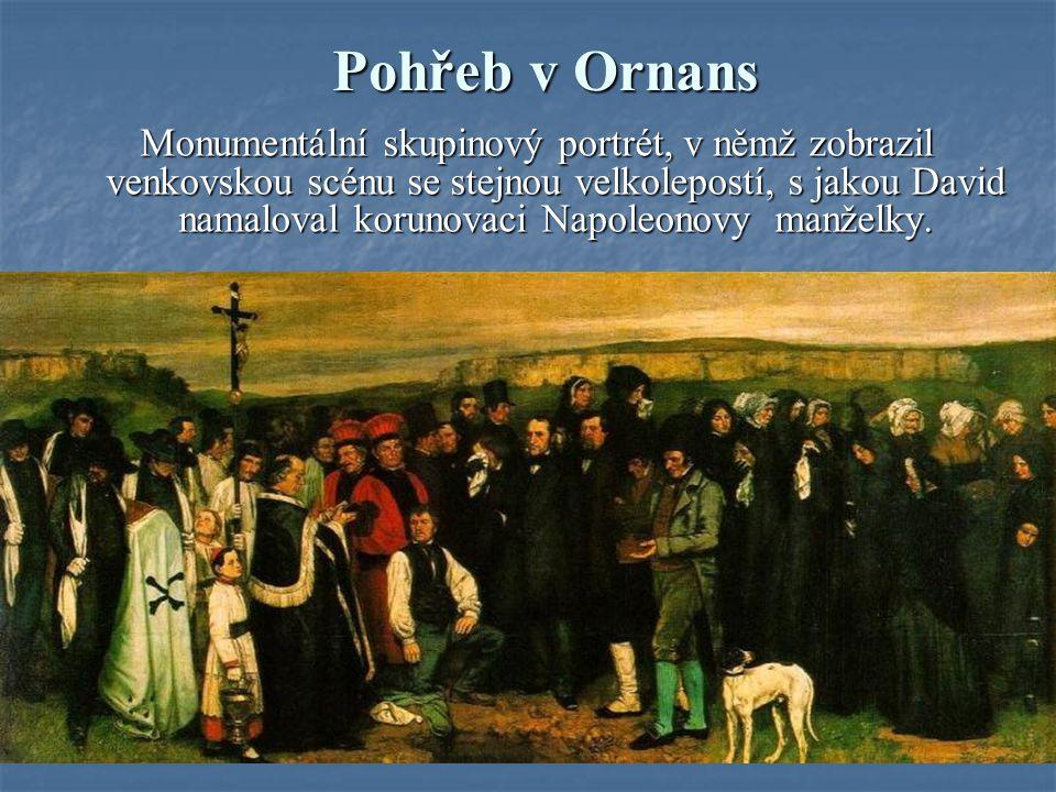 Pohřeb v Ornans