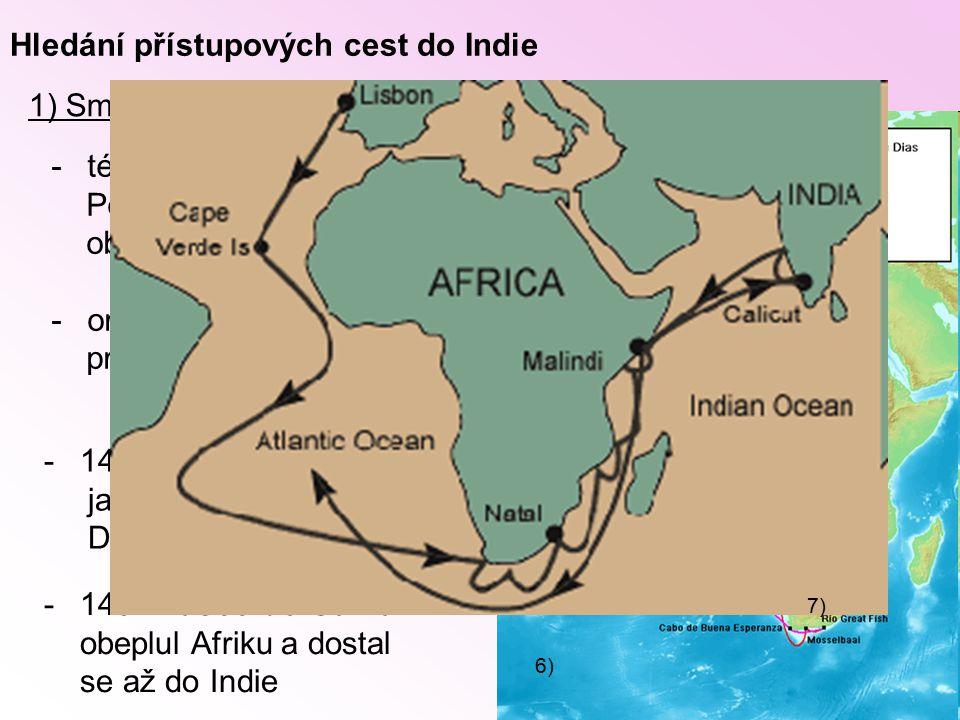 Hledání přístupových cest do Indie