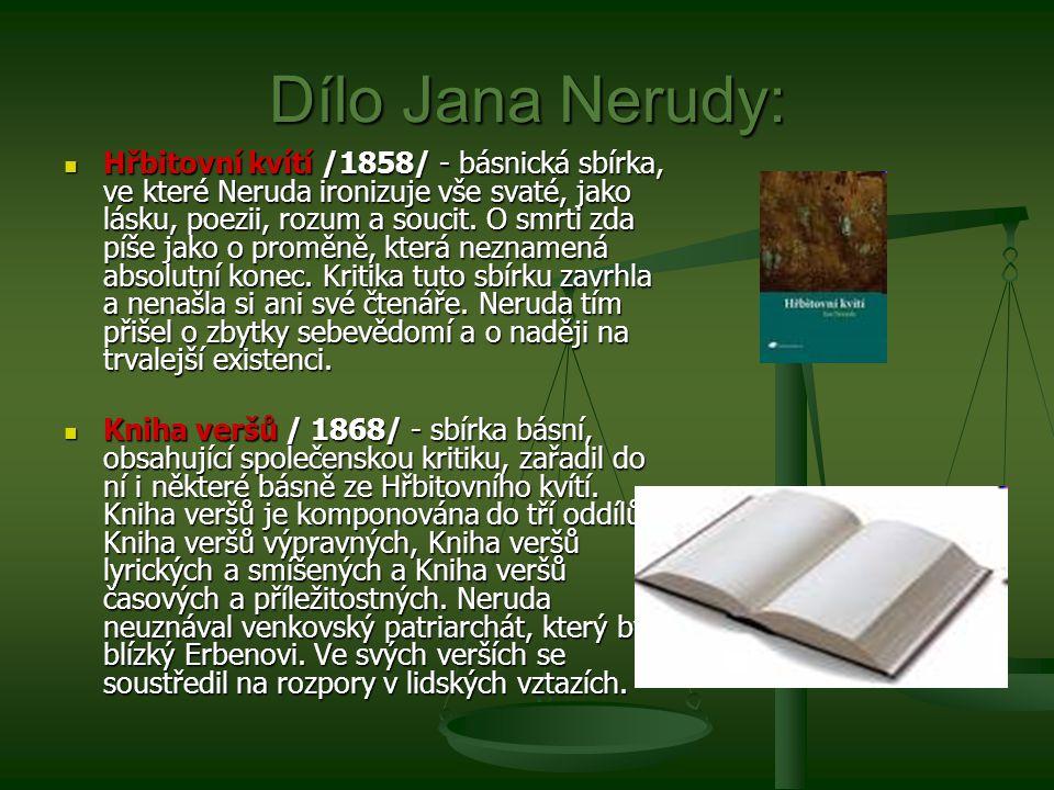 Dílo Jana Nerudy: