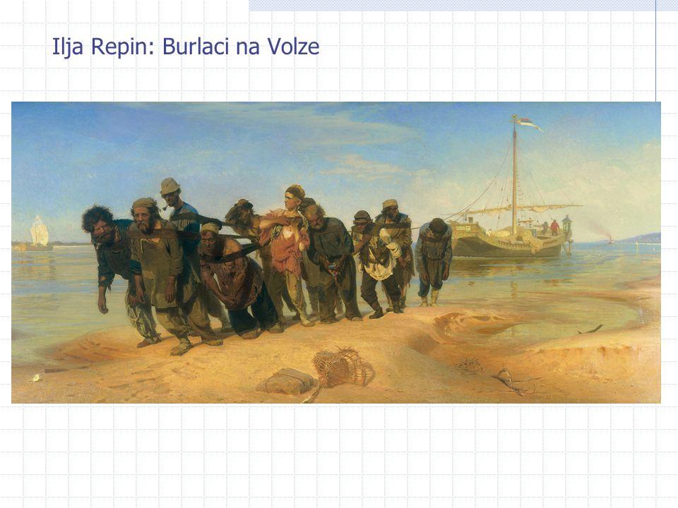 Ilja Repin: Burlaci na Volze