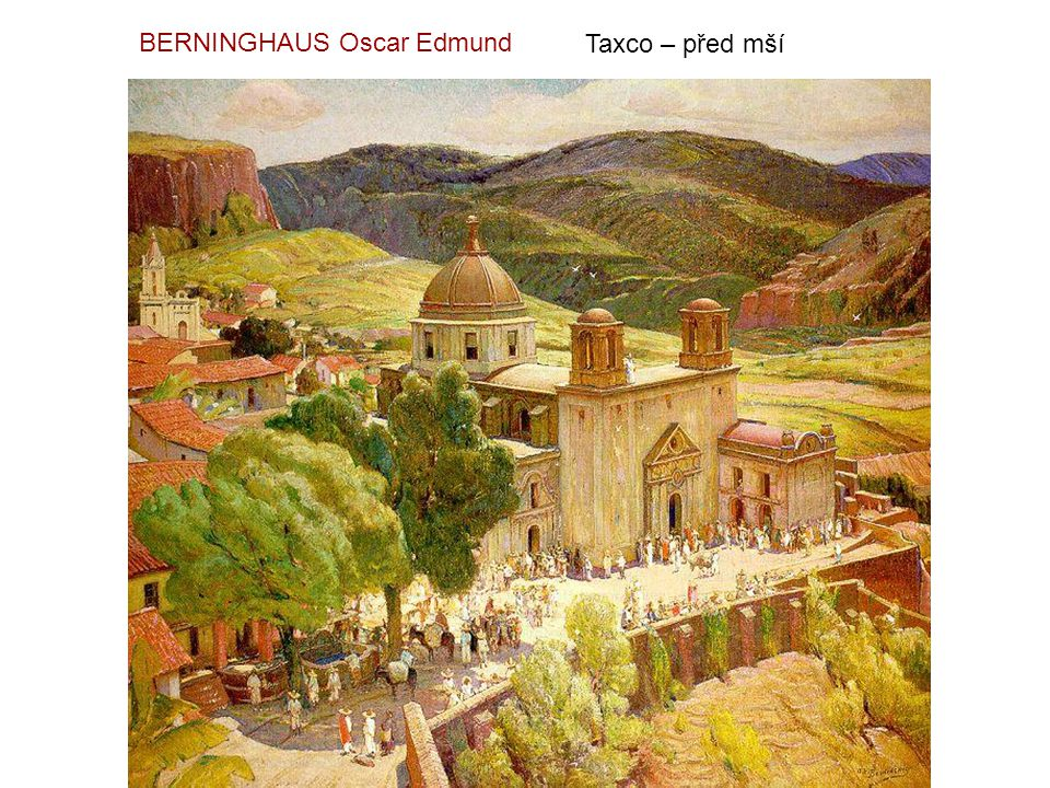 BERNINGHAUS Oscar Edmund