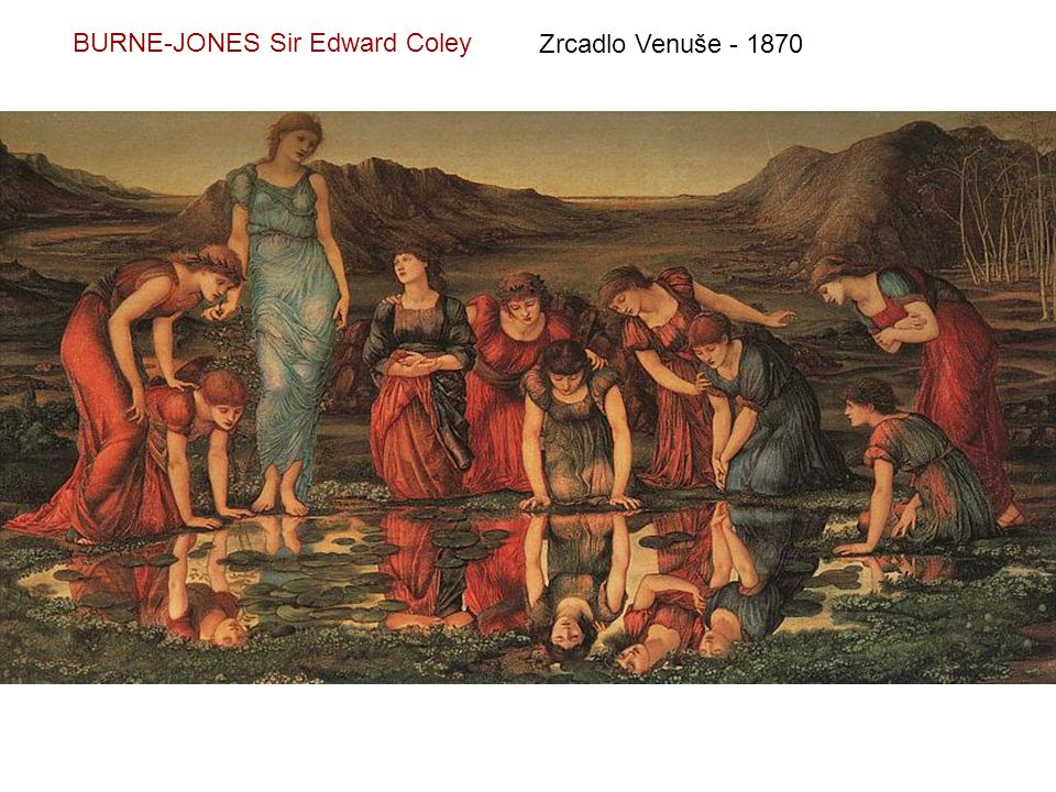 BURNE-JONES Sir Edward Coley
