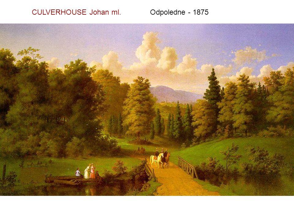 CULVERHOUSE Johan ml. Odpoledne - 1875