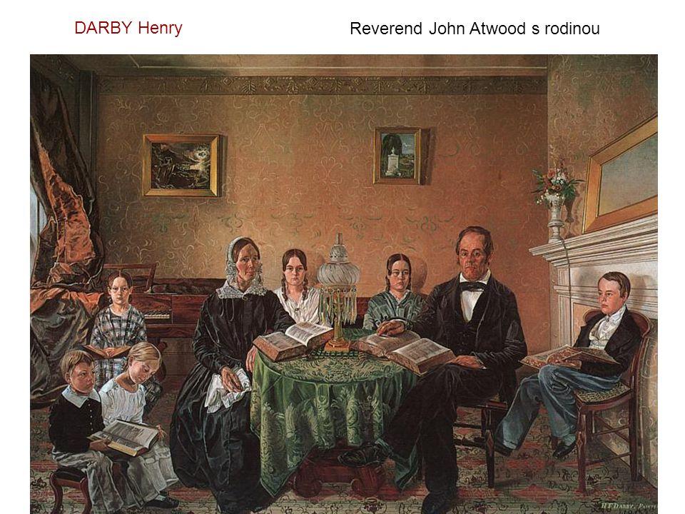 DARBY Henry Reverend John Atwood s rodinou