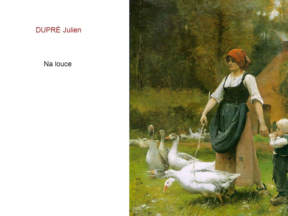 DUPRÉ Julien Na louce