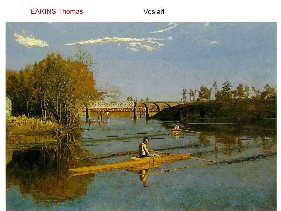 EAKINS Thomas Veslaři