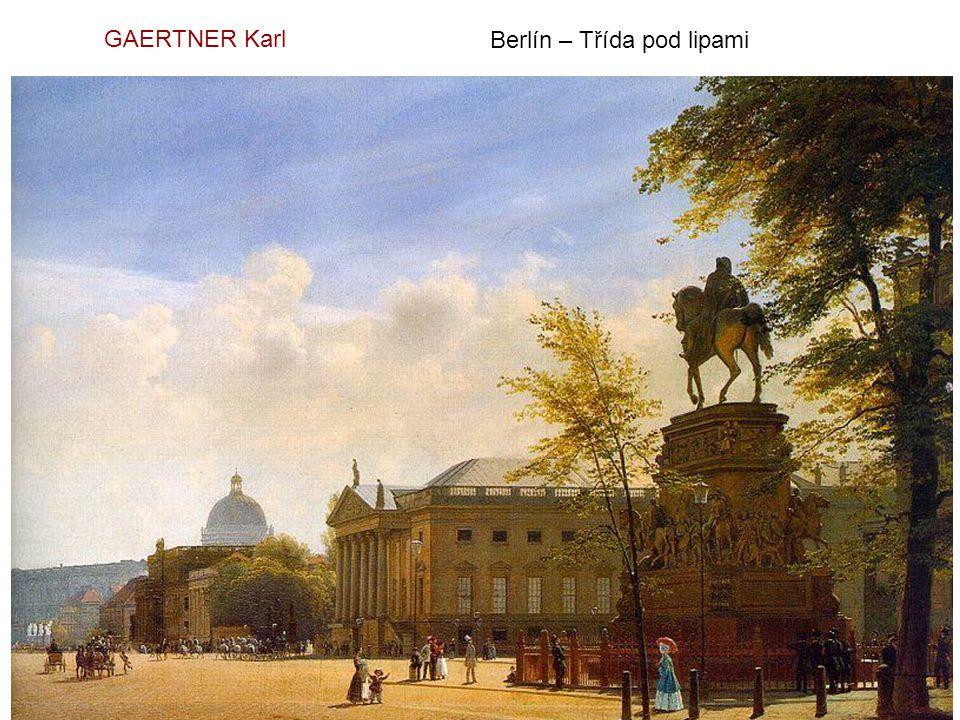 GAERTNER Karl Berlín – Třída pod lipami