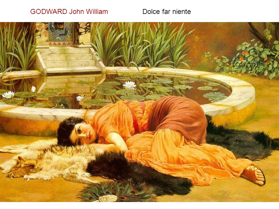 GODWARD John William Dolce far niente