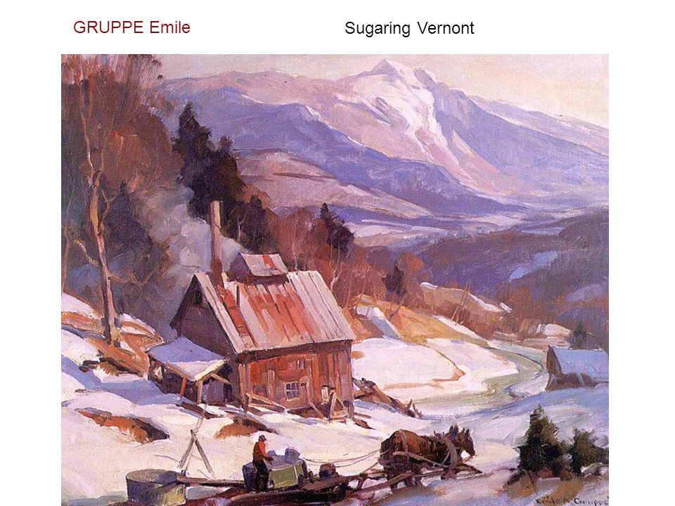 GRUPPE Emile Sugaring Vernont