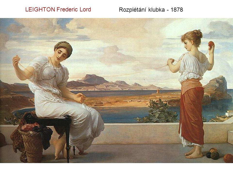 LEIGHTON Frederic Lord