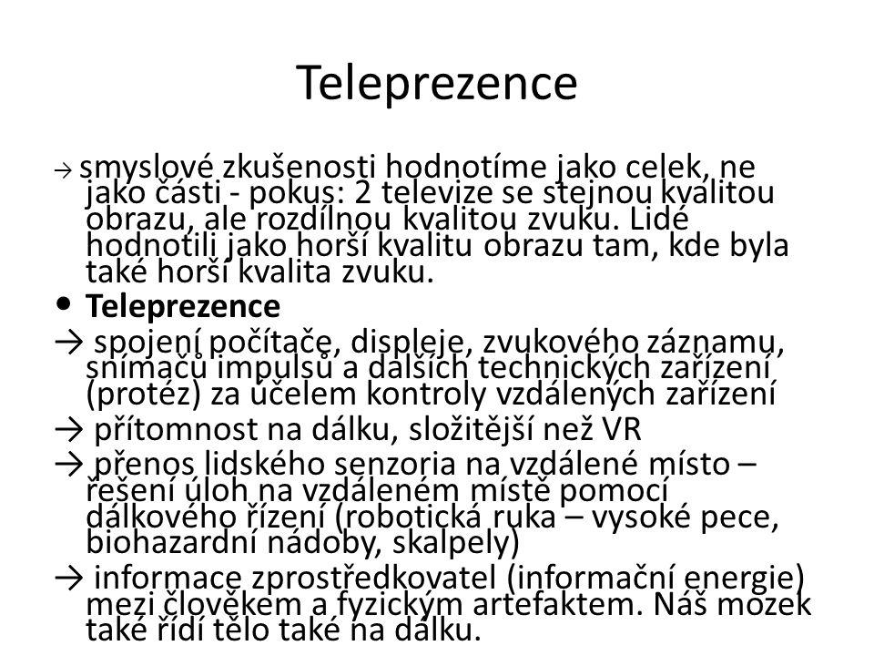 Teleprezence Teleprezence
