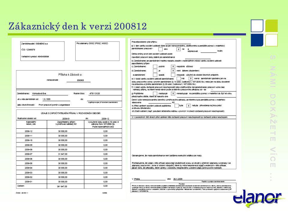 Zákaznický den k verzi 200812 S NÁMI DOKÁŽETE VÍCE ...
