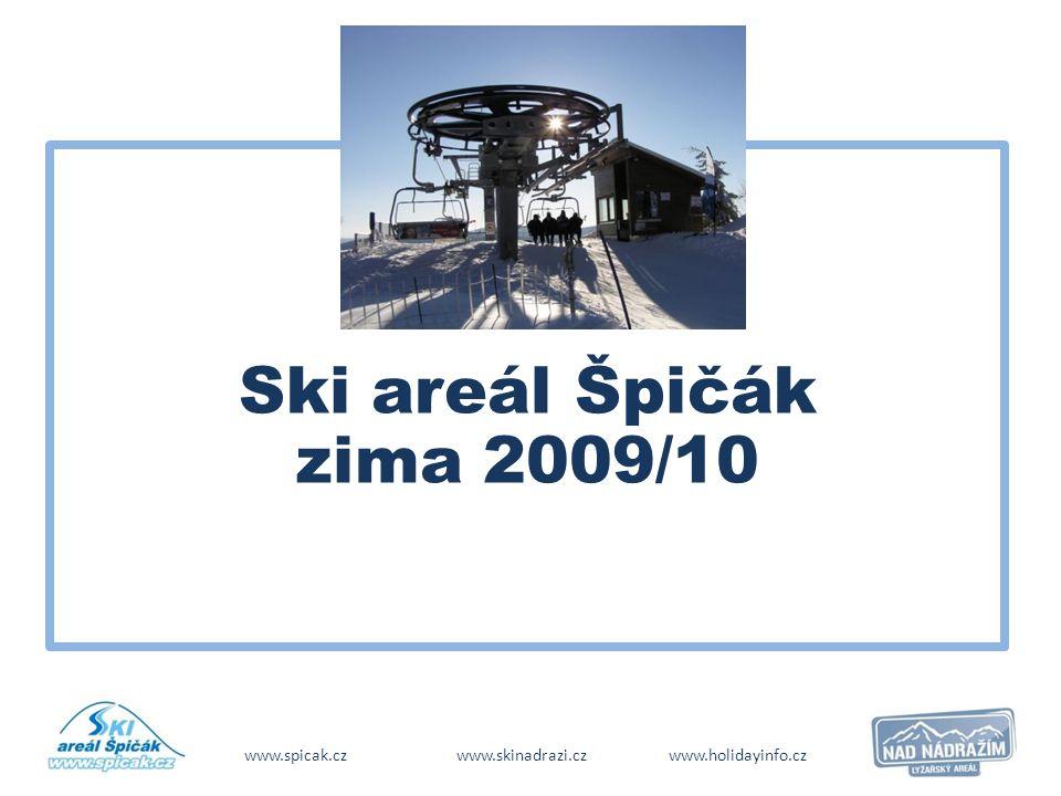 Ski areál Špičák zima 2009/10