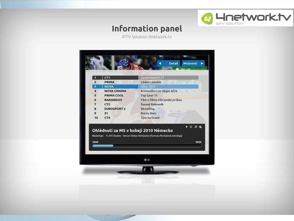 4network.tv – nastavení PIN