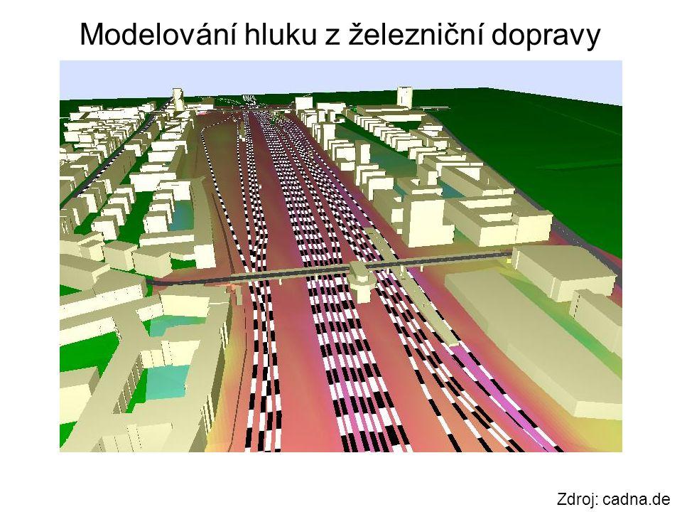 Modelování hluku z železniční dopravy