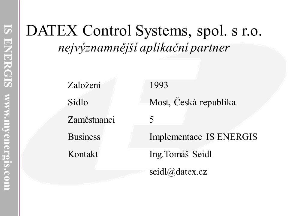 DATEX Control Systems, spol. s r.o.