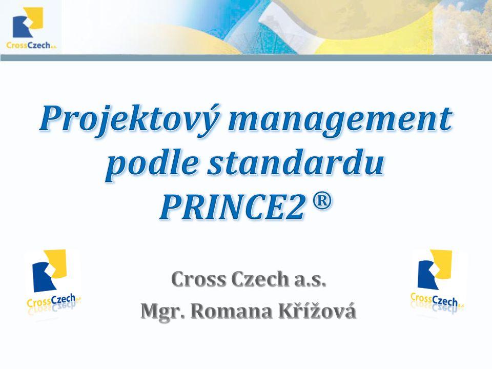 Cross Czech a.s. Mgr. Romana Křížová