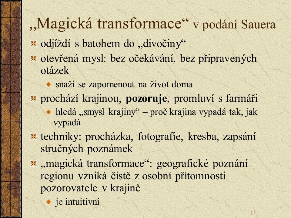 """""""Magická transformace v podání Sauera"""