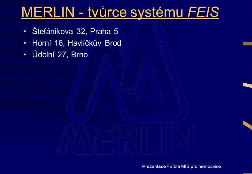 MERLIN - tvůrce systému FEIS