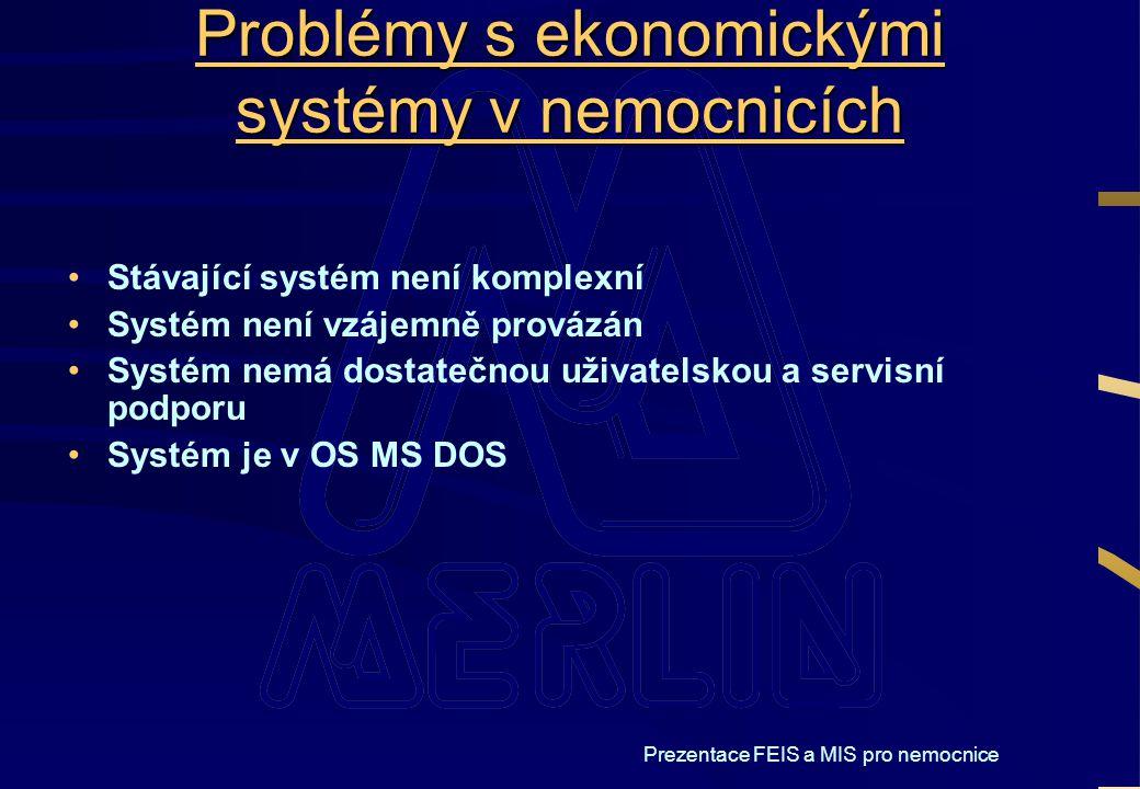 Problémy s ekonomickými systémy v nemocnicích