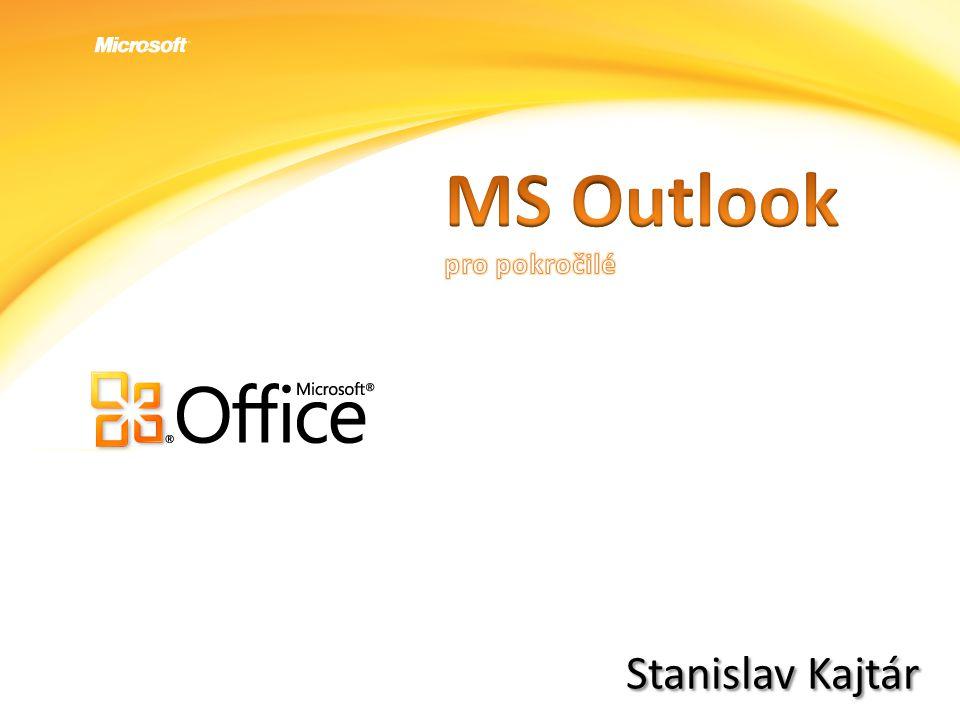 MS Outlook pro pokročilé