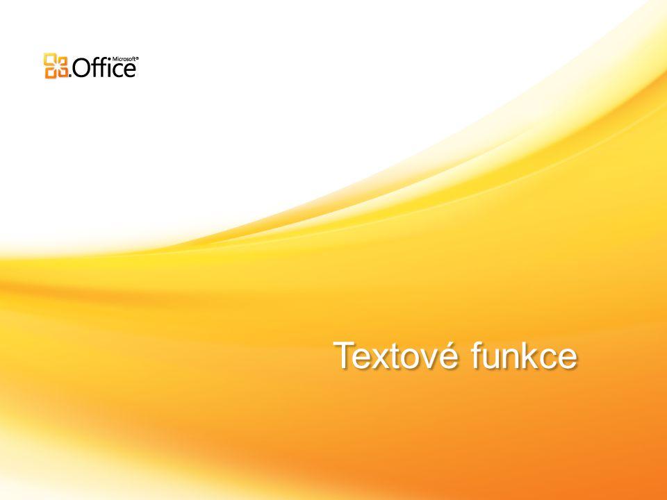 Textové funkce
