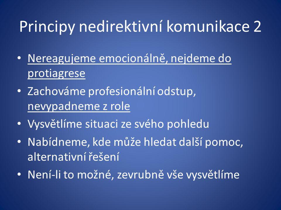 Principy nedirektivní komunikace 2