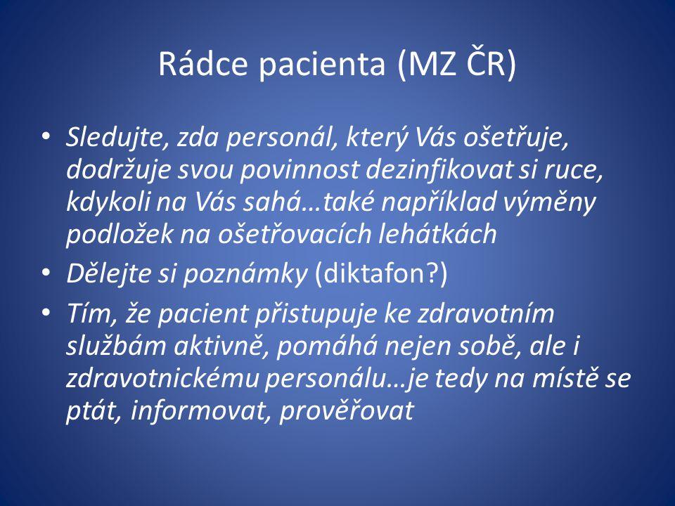 Rádce pacienta (MZ ČR)