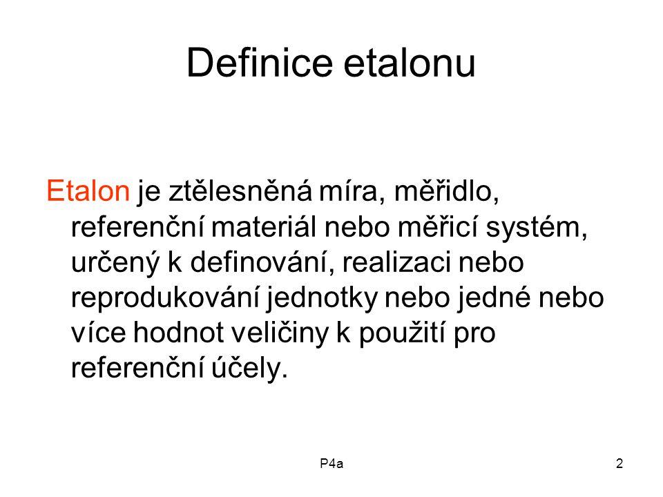 Definice etalonu