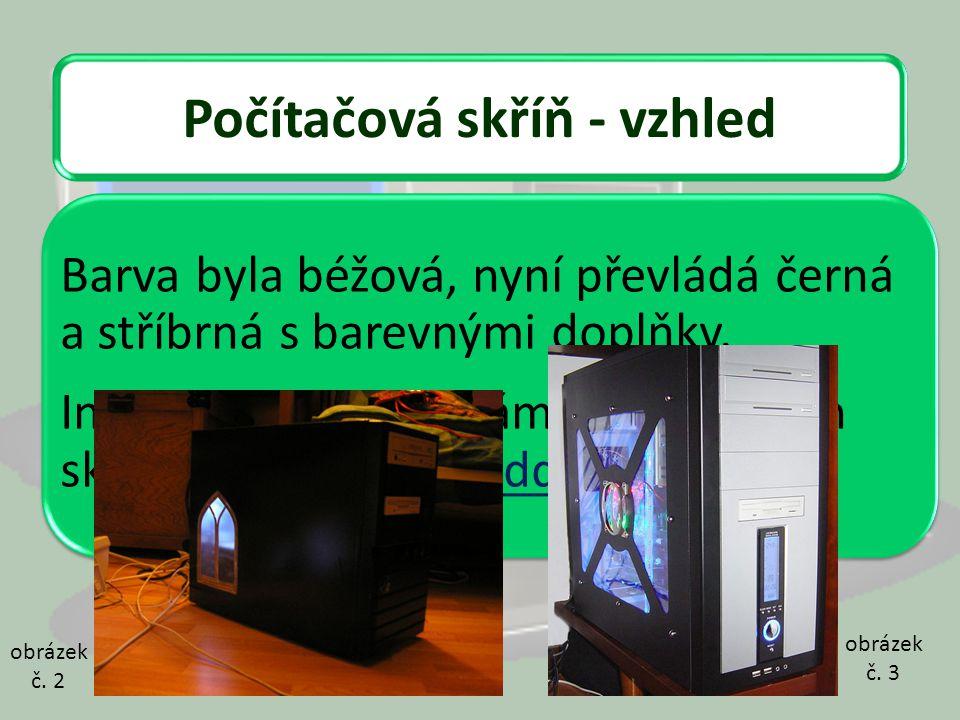 Počítačová skříň - vzhled