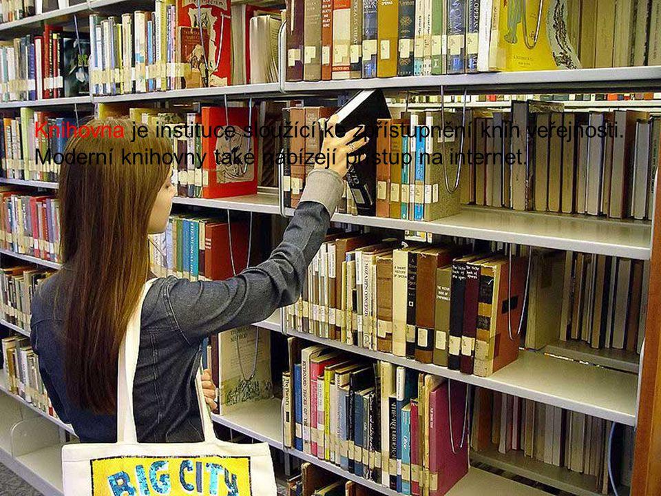 K čemu využíváme knihovnu