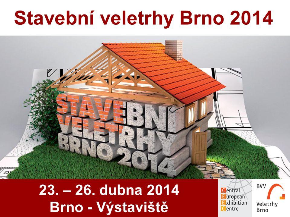 Stavební veletrhy Brno 2014